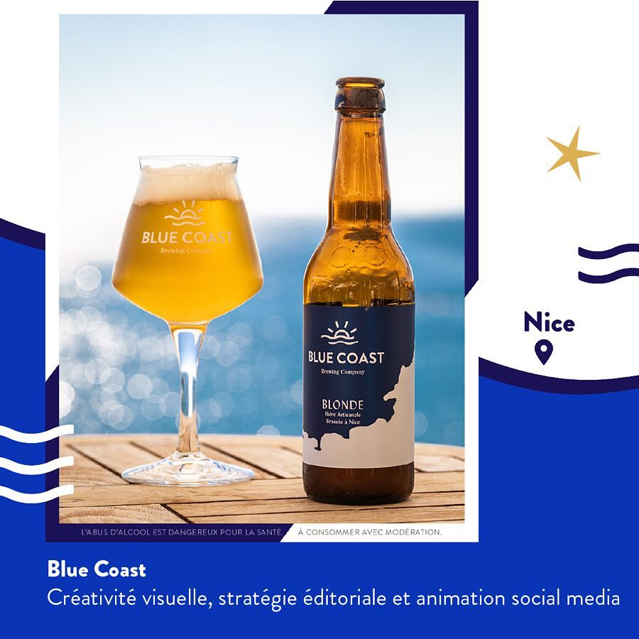bluecoast- blue coast, Freelance-Reseaux-sociaux-communication-instagram-Social-media-carousel